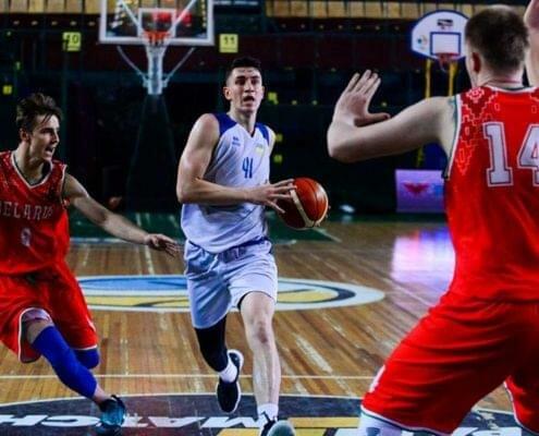 Молодежная сборная по баскетболу - 9